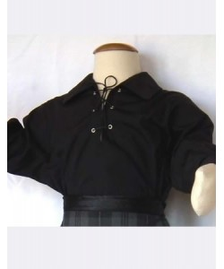12 - 24 months Black ghilie shirt