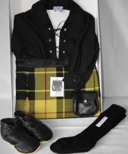 6-12 Months Black Ghille Shirt Gift Pack