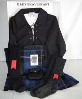24-36 Months Black Ghille Shirt Gift Pack