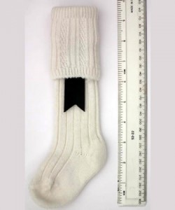 6-12 months White Socks
