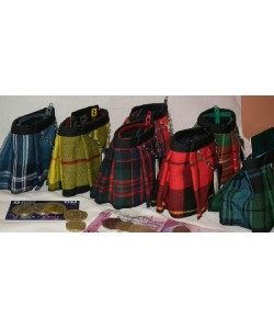 Wee Tartan Purses... more about