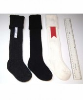 Socks. Shoe size 3 to 7.