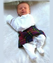Newborn/ Day One/ Baby's First Kilt