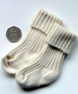 Socks for Baby Shoe Size Zero to Two