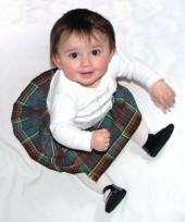 6-12 months Baby's Kilt