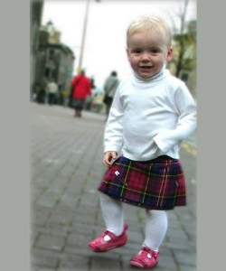 24-36 months not-toddling-anymore kilt