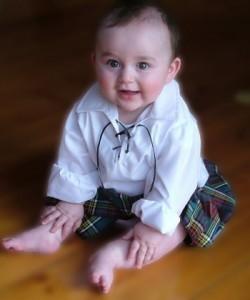 6-12 months Ghillie Shirt